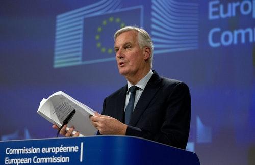 歐盟英國脫歐談判協議草案