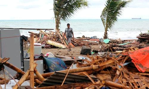 印尼海嘯,巽他海峽