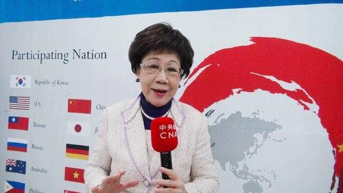 呂秀蓮首爾重申2020年台灣大選時和平中立公投