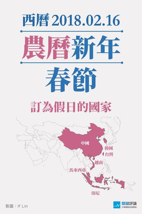 亞洲傳統文化-農曆