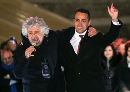 Beppe Grillo, Luigi Di Maio
