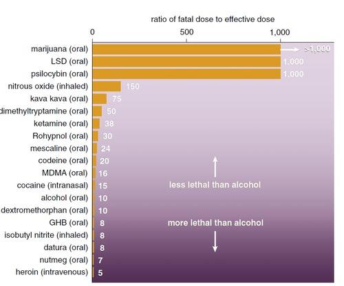藥物毒性比較