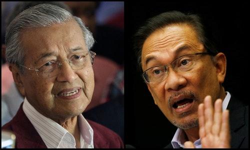 Anwar_and_Mahathir 馬來西亞