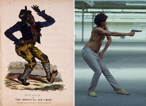 Jim Crow黑人種族歧視this is America MV