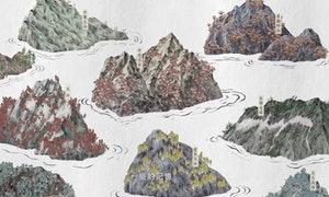最佳原住民語專輯的入圍動畫,插畫設計是王妤璇 Yu-Hsuan Wang,視覺統籌是JL Design