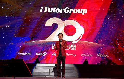 【新聞圖】TutorABC董事長楊正大博士蒞臨現場,暢談AI教育未來趨勢,持續引