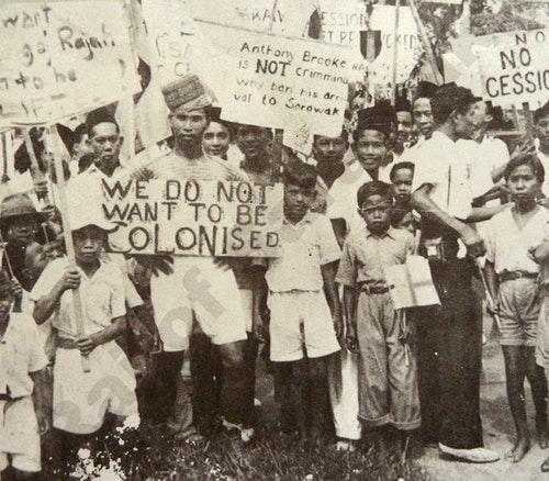 Sarawak_anti-cession_demonstration