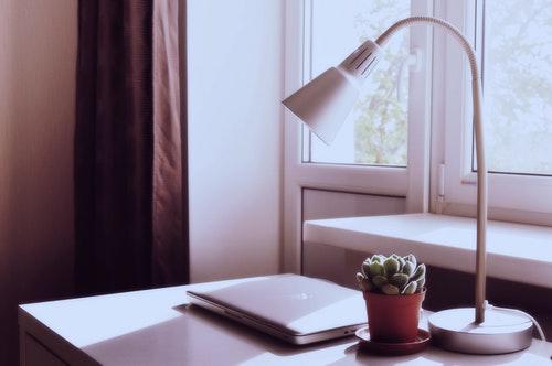 laptop-desk-computer-macbook-table-plant
