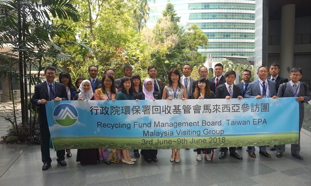 回收綠報報#25|看準回收商機 臺灣資收經驗靠交流前進「新南向國家」馬來西亞