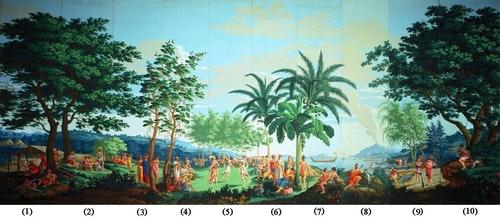 'Sauvages_de_la_Mer_Pacifique',_panels_1