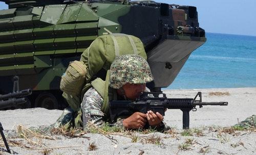 菲律賓士兵