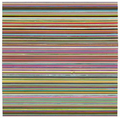李政勳_305-rectangles_Acrylic-on-wood_100x1