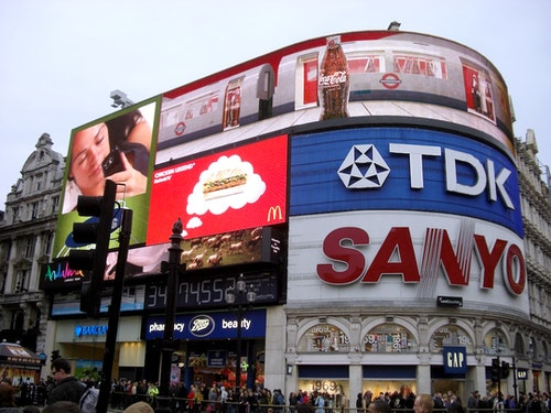 Piccadilly_Circus(倫敦地標)