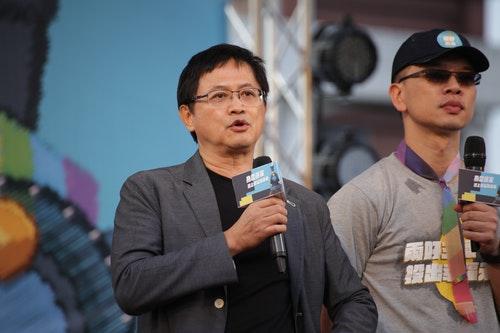 和碩科技董事長童子賢登上婚姻平權倡議活動舞台表示婚姻平權是天賦人權