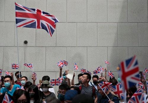 香港;英國