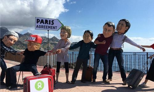川普巴黎氣候協定