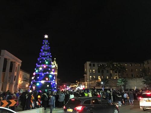 雅法城的聖誕樹