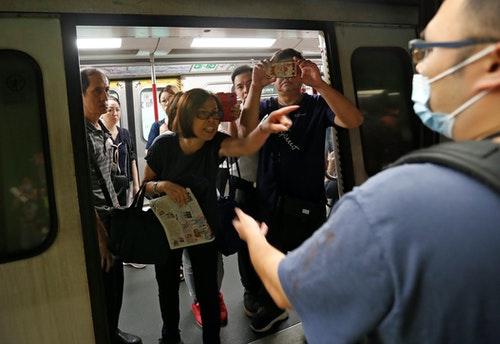 香港;罷工;地鐵