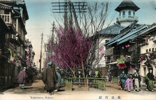 Tokyo_Yoshiwara_Taisho_Era_postcard