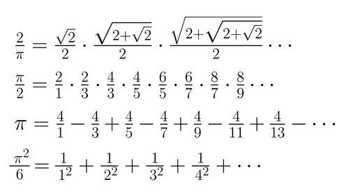 pi_formulas
