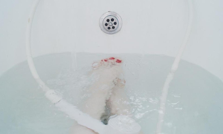 冬日裡的泡澡時光