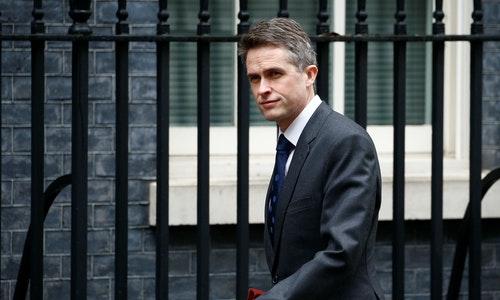 英國國防大臣Gavin Williamson