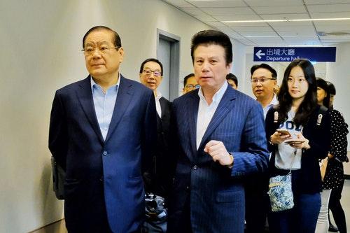 國民黨曾永權帶隊 飛廈門參加海峽論壇(2)