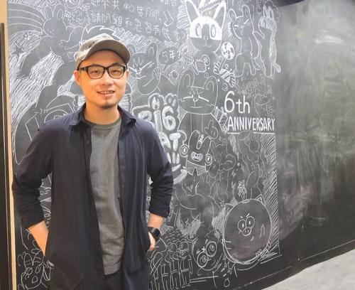 圖一、「大貓工作室」動畫導演王尉修:「大貓因創作而存在!在台灣走原創動畫的路,才