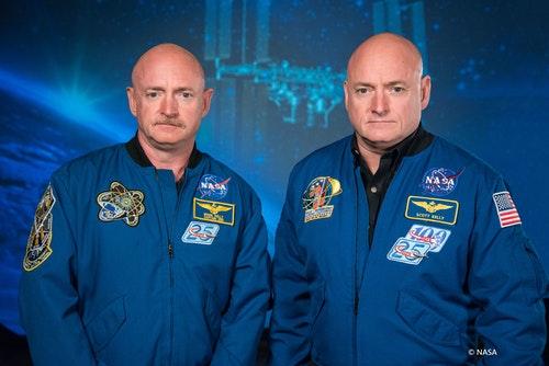 我和我的雙胞胎哥哥馬克,都成為了夢想中的太空人