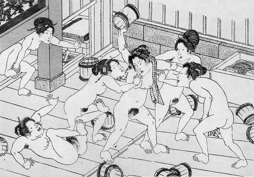 《裸體日本》:明治維新以前的日本人,將裸體視為「臉部」的延伸