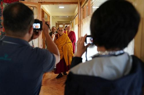 客家台專訪  達賴喇嘛樂意再度訪台