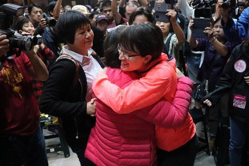 花蓮立委選戰 蕭美琴敗選感謝支持者相挺