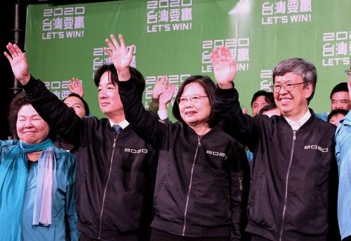 評台灣大選結果 新華社:受到外部暗黑力量操控