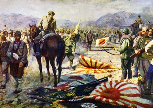The_surrender_of_the_Kwantung_Army_Paint