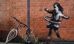 「他沒說話只對我眨眨眼」英國美容院老闆疑似巧遇Banksy作畫現場