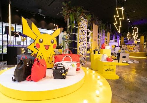 Longchamp_x_Pokémon聯名系列__MARAIS快閃店_空景照_