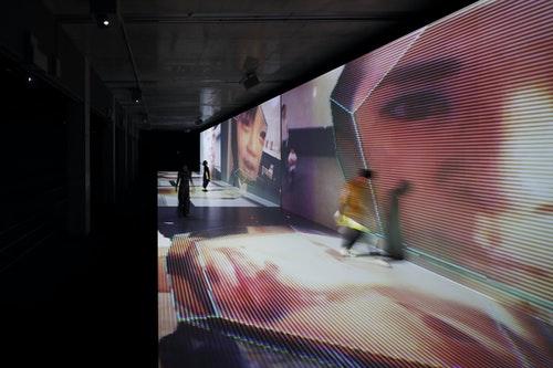 04_展覽亮點_9_位日本藝術家視覺影像創作 〈JIDO-RHYTHM〉辻川幸一郎( GLASSLOFT )× Bascule × 北千住設計