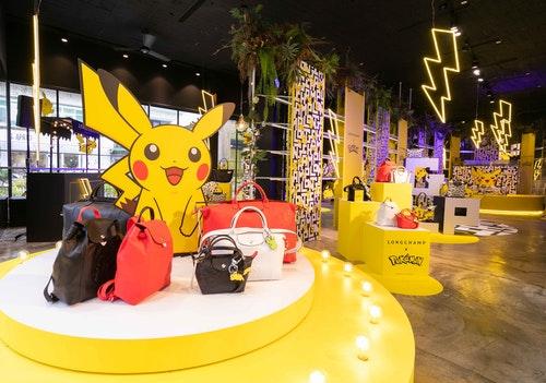 Longchamp_x_Pokémon聯名系列__MARAIS快閃店_空景照_(