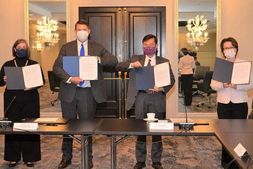 台美經濟對話開幕 雙邊簽署備忘錄深化經濟合作