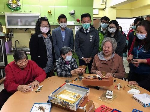 新竹市將發1萬5000片口罩給長照機構