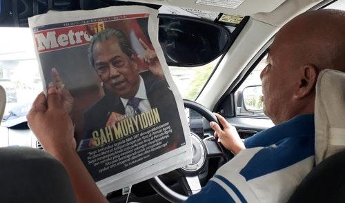 馬來西亞計程車駕駛關心政局變化