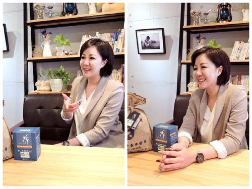 圖一、李相霖成立「享So」研發綠茶咖啡濾掛包