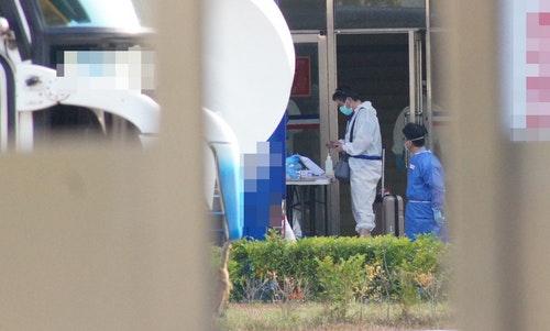 印度撤僑專機乘客  入住中部兩檢疫所