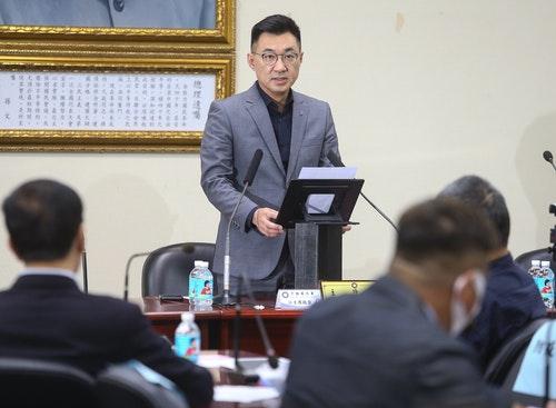江啟臣出席國民黨中常會(1)