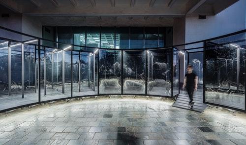 05_何理互動設計,《膜》(夜間局部),2020_©何理互動設計,攝影/朱逸文