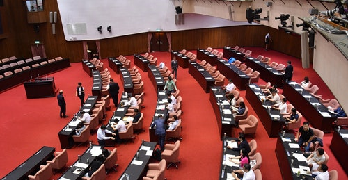 立法院臨時會  議場未見國民黨