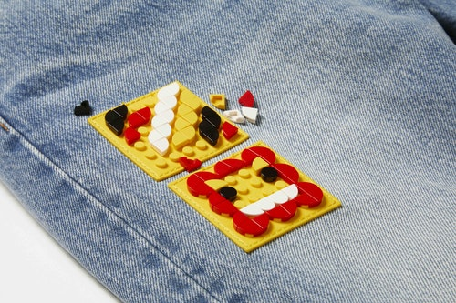 LEGO元素以多彩童趣的方式呈現在LEVI'S®_x_LEGO_Group樂高聯