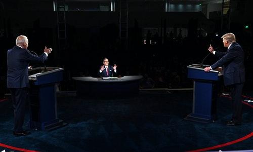 川普拜登總統大選辯論