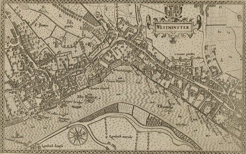 1593_Norden's_map_of_Westminster_surveye