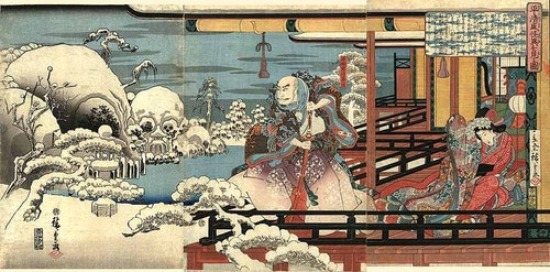 Hiroshige_-_Taira_no_Kiyomori_ve_aparici